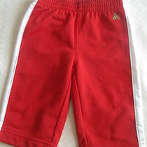 Baby Gap Infant Boy's Athletic Sytle Pants Red With White Stripe Size 3-6 Mo. Photo