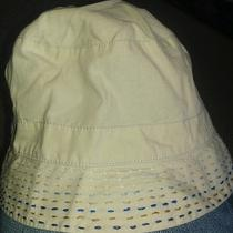 Baby Gap Infant's Khaki and Blue Hat Photo