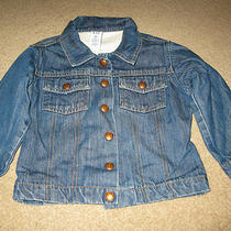 Baby Gap Jean Jacket With Lining Size 3 Photo