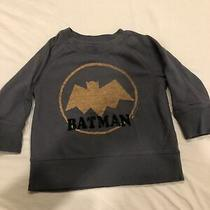 Baby Gap Junk Food Batman Pullover Sweat Shirt Gray Size 3 Years Photo