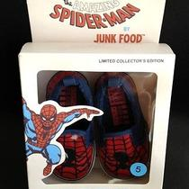 Baby Gap Junk Food Spiderman Sneakers Toddler Size 5 New Shoes Super Hero Marvel Photo