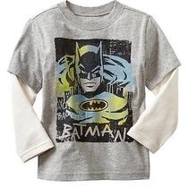 Baby Gap Junk Food Superhero 2in1 Batman T-Shirt Size 12-18 Months Photo