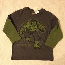 Baby Gap Junk Food Superhero 2in1 Shirt the Incledible Hulk Size 2t Photo