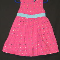 Baby Gap Kids - Toddler Girls Pink Polka Dot Sleeveless Dress -  Size 2t - Cute Photo