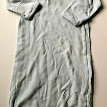 Baby Gap Light Blue Sleep Gown Sack Size 3-6 Months Photo
