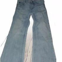 Baby Gap Light Wash Bootcut Jeans Size 4 Adjustable Waist Photo