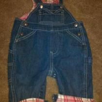 Baby Gap Lined Overalls 3-6 Months Photo
