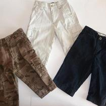 Baby Gap Lot of Baby Boy Pants Size 12-18 Months Cargo Navy Photo