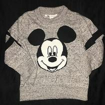 Baby Gap Mickey Mouse Sweater Sz 2t Grey & Black Photo