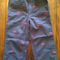 Baby Gap Navy Pants W/bikes Sz 4 Photo