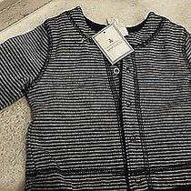 Baby Gap Nwt Blue Gray Reversable Cotton Jacket 3 Months Photo
