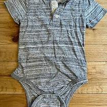 Baby Gap One-Piece Gray 6-12 Month Photo