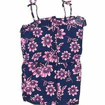 Baby Gap Outlet Girls Blue Romper 3 Photo