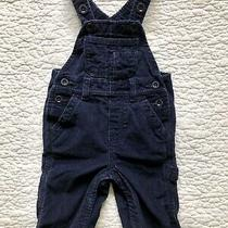 Baby Gap Overalls - Blue Corduroy - Size 3-6 Months Photo