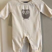 Baby Gap Owl Sweater Knit One Piece Romper Clothes Infant Size 0-3 Months Photo