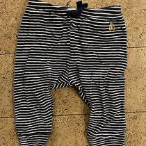 Baby Gap Pants Striped Bear 6-12 Months Unisex Photo