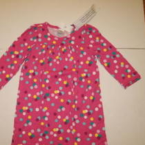 Baby Gap Pink L/s Nightgown 5t Nwt's Photo