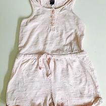 Baby Gap Pink White  Striped Romper Outfit Baby Girl 2 Years 2t Vguc Photo