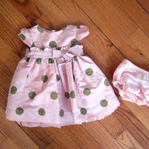 Baby Gap Polka Dot Dress 0-3 Photo