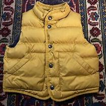 Baby Gap Puffer Vest Toddler Size 12 to 18 Months Yellow Photo