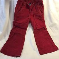 Baby Gap Red Wide Leg Velvet Pants Size 3years Old Photo