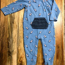 Baby Gap Rocket Ship Romper Pajamas 18-24 Months Photo
