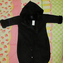 Baby Gap Shearling Baby Bunting  Bag With Ears Photo