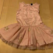 Baby Gap Shimmery Tutu Dress Pink Sleeveless Girls Sz 2 Photo