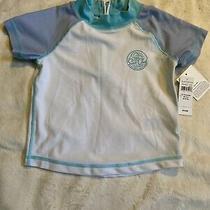 Baby Gap Short Sleeve Rash Guard Size 2t White  Photo