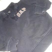 Baby Gap Size 2t Blue Long Sleeve Half Zip Sweatshirt Pullover Photo