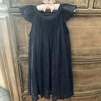 Baby Gap Size 3 Toddler Navy Sparkle Dress Photo