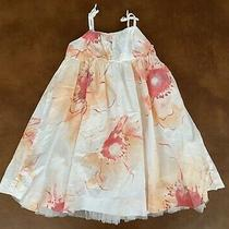 Baby Gap Sleeveless Lined Floral Summer Dress for Size 2t Girl (M5) Photo