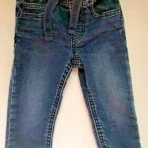 Baby Gap Slim Fit Dark Wash Blue Jeans Size 18-24 Months Photo
