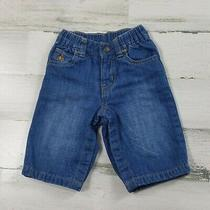 Baby Gap Soft Gray Lined Jeans Size 3/6 Month Blue Photo