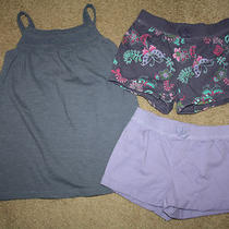 Baby Gap Southwest 4t 4 3pc Set Lot Knit Tank Swing Top & Shorts Toddler Girl Photo