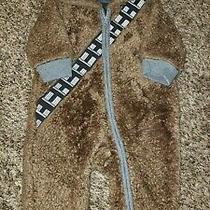 Baby Gap Star Wars 3-6 Months Chewie Chewbacca Bunting Snowsuit Costume Photo