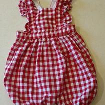 Baby Gap Summer Blush Pink Romper Bubble Bodysuit Girls Size 12-18 Months Nwt Photo