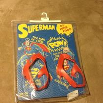 Baby Gap Superman Flip Flops Size 5t/6t ... Limited Edition by Junkfood Photo