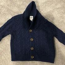 Baby Gap Sweater 6-12 Months Great Condition Navy Blue Gap 6-12m Photo