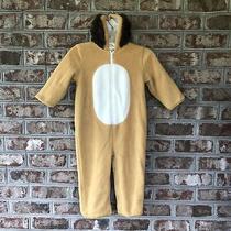 Baby Gap Sz 2 Xl Warm Fleece Hooded Lion Costume Dress Up Photo