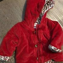 Baby Gap Sz 3/6 Months Adorable Red Winter Jacket Euc Photo