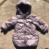 Baby Gap Toddler (4years ) Puffer Hooded Coat Rose/lavender Photo