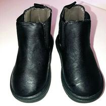 Baby Gap Toddler Black Ankle Boots  Size 6 Photo