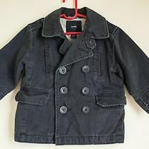 Baby Gap Toddler Boy's Cotton Navy Blue Jacket Size 2 Years 2t Photo
