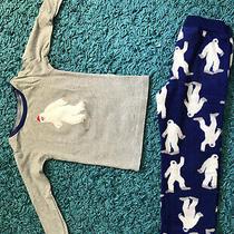 Baby Gap Toddler Boys Pajama Set Size 4 Years - Long Sleeve & Pants - Blue Yeti Photo