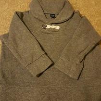 Baby Gap Toddler Boys Size 18-24 Months Grey Long Sleeve Sweater Shawl Collar Photo
