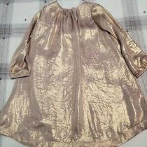 Baby Gap Toddler Girl  Shimmer Gold Dress 5t Photo