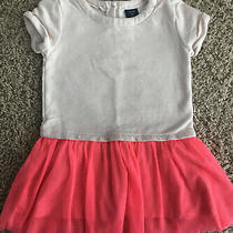 Baby Gap Toddler Girl Tunic Dress Pink Tutu Size 2 2t Photo