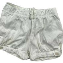 Baby Gap Toddler Girls Euc White Shorts - Size 2t Photo