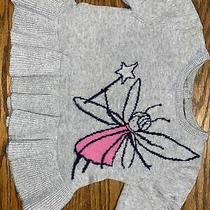 Baby Gap Toddler Girls Size 18-24 Months Sweater With Fairy Photo